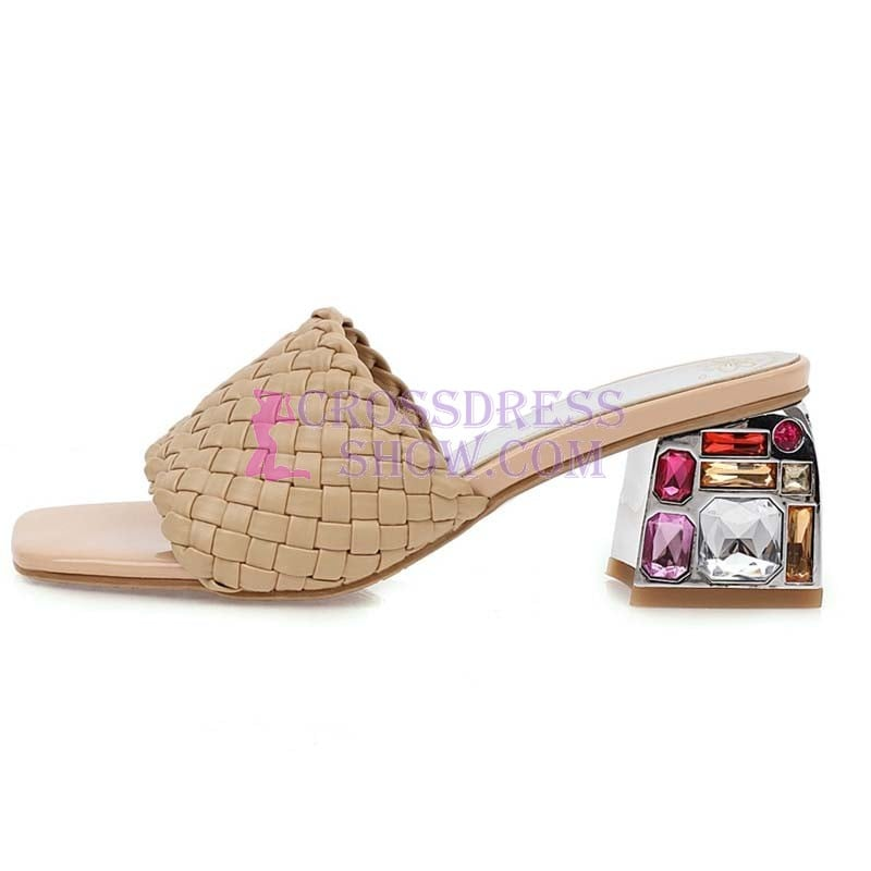 1 Inch Luxury Knitted Beach Slipper