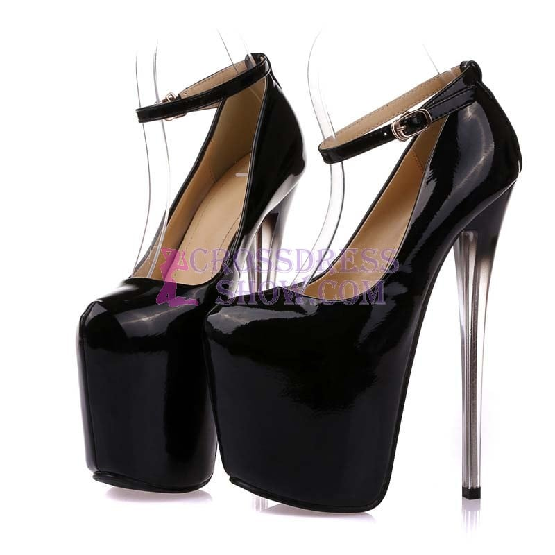 8 Inch Super High Solid Heel Pump