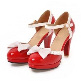 3.5 Inch Butterfly-knot Sweet Lolita Sandal