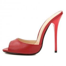 4.7 Inch Peep Open Toe Flip Flops Slipper