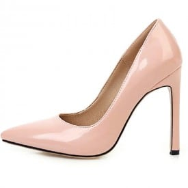 4 Inch Patent leather Pointed Toe Pump