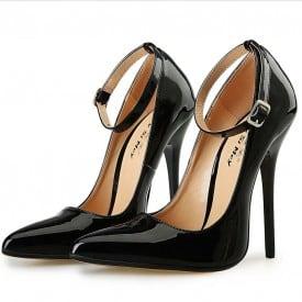 5.1 Inch Stiletto Heel Lace Pump