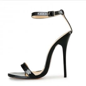 5 Inch High Heel Lace Simple Sandals
