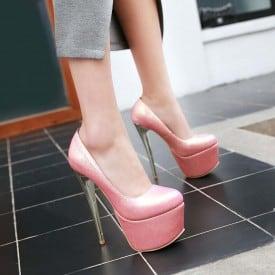 6.3 Inch Super High Heels Pumps