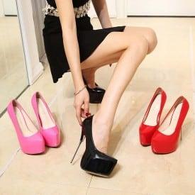 6.3 Inch Super High Thin Heels Pumps