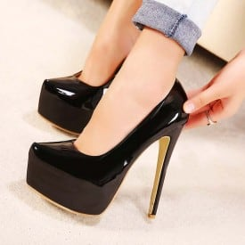 6 Inch Pointed Pumps