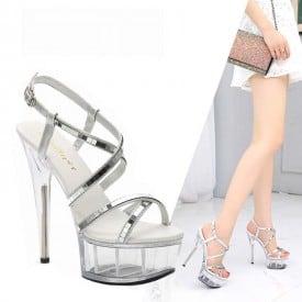 6 Inch Super Model Show Sandals