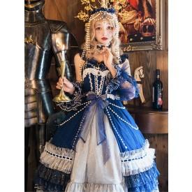 Classic Lolita JSK Dress Starry Night Lolita Jumper Skirts
