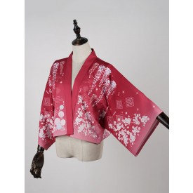 Kimono Lolita Cardigan Print Wa Lolita Cape