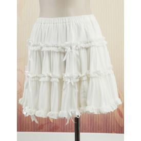 Lolita Sweet Chiffon Lolita Petticoat