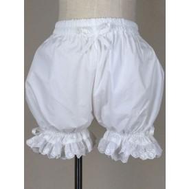 Lolita Sweet Lolita Bloomers Lace Trim Bows Plus Size Cotton Pumpkin Bloomers