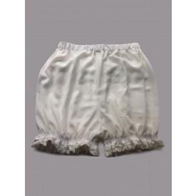 Lolita White Lolita Bloomers Lace Ruffles Cotton Lolita Shorts For Women