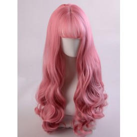 Long Lolita Wig Heat Resistant Fiber Curly Lolita Hair Wigs