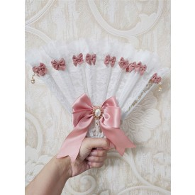 Pink Lolita Accessories Bows Accessory Poly Cotton Blend Miscellaneous