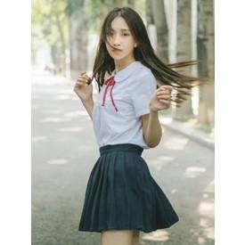School Uniform JK Outfit Dark Navy Cotton Anime Merchandise