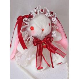 Sweet Lolita Bag Bunny Lace Pearls Bow Shoulder Bag