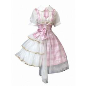 Sweet Lolita JSK Dress Idol Declaration Bows Pink Lolita Jumper Skirts