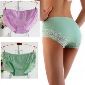 Cotton Lace Foral Panty