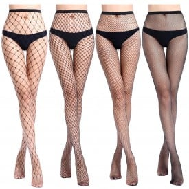 Small Middle Big Mesh Pantyhose