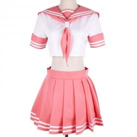 Sweet Cute Pink Uniform