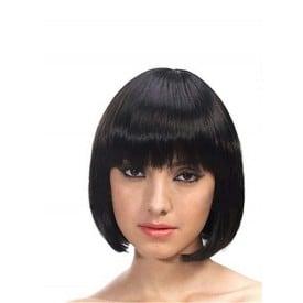 Sweet Short Black Wig