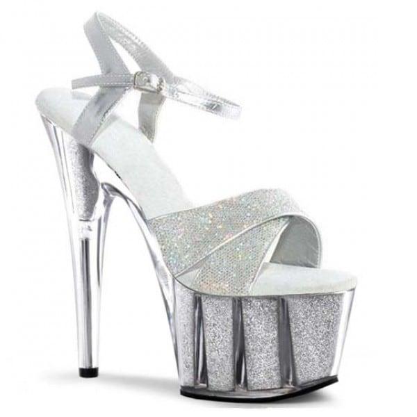 6 Inch Shiny Deamond Sandals